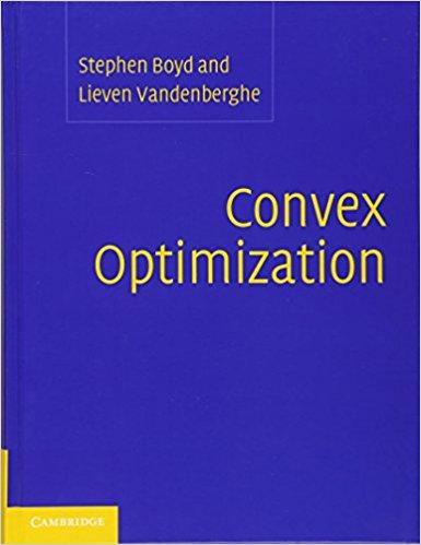 Convex optimization boyd book pdf